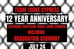 Team Tooke Cypress Bjj 12 year anniversary