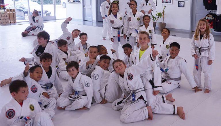 Team Tooke Cypress kids MMA class