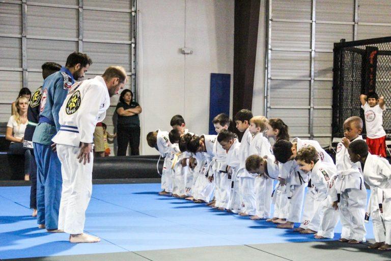 Jiu-jitsu classes Team Tooke Kids class